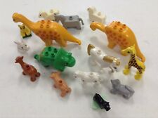 LEGO DUPLO X15 Animals Dinosaurs Farm Pig Horse Dog Bulk Lot Parts Pieces
