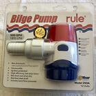 RULE Bilge Pump, Model 25DA, 500GPH/1893LPH, 12Volts DC, Non-automatic. photo