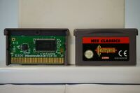 Castlevania Nes Classics nintendo game boy advance GBA gameboy EUR PAL 2005