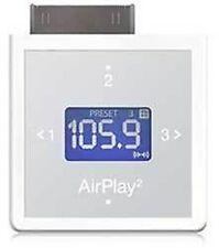 Blanc Airplay 2 Transmetteur FM pour iPod Touch Mini Nano