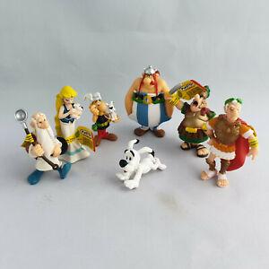 Asterix & Obelix Lot - 7 FIGURES NEW - Plastoy Caesar Panoramix Falbala Idefix