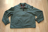 Polo Ralph Lauren Teal Green Bomber Harrington Golf Zip Up Jacket Men's Sz XL