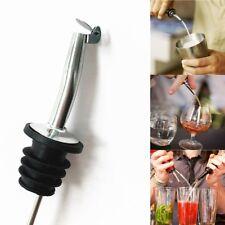 1pc Liquor Spirit Pourer Flow Wine Bottle Pour Spout Stopper Stainless Steel