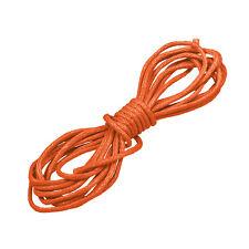 Cycle 1 mm WAXED COTON Bijoux Cordon Burnt Orange 1 m (N82/1)