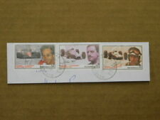 Formula 1 Racing Legends Stamps Graham Hill - Gerhard Berger - John Surtees