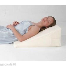 "Luxury - 12"" Foam Bed Wedge Pillow w/Cover - Free Shipping"