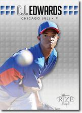 2013 Rize Draft Baseball (10) CARD LOT 21 Carl C J Edwards Jr