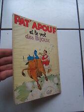 GERVY / PATAPOUF / ET LE VOL DES  BIJOUX    / BONNE PRESSE /  EO  1956