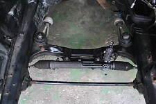 BMW E46 Vorderachse in Teile Lenkgetriebe Querlenker Achsträger Radnabe Dämpfer