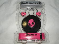 Skullcandy ASYM Headphones  Pink   13.5mm Drivers   NEW