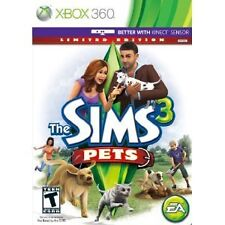 The Sims 3: Pets -- Limited Edition (Microsoft Xbox 360, 2011)  NO MANUAL