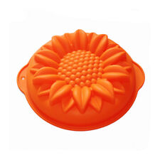 Sunflower Round Jello Cake Mousse Pan Pizza Gelatin Baking Silicone Mold