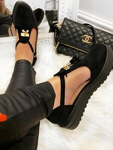 Women's Cut Out Tassels Loafers Shoes Ladies Summer Comfy Flat Platform Sandals