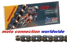 CZ  MOTOCROSS CHAIN 420 M / 130 Links for HONDA CRF150 07-17 MOTOCROSS