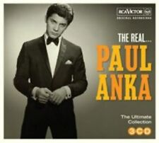 The Real... [Digipak] by Paul Anka (CD, Sep-2014, 3 Discs, RCA Victor)