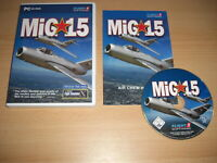 MIG-15 Pc Cd Rom Mig 15 Add-On Microsoft Flight Simulator Sim X & FS2004 FSX
