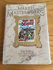 MARVEL MASTERWORKS BOOK GIANT SIZE X-MEN NO 1&X-MEN NOS #94-#100. GOLD FOIL