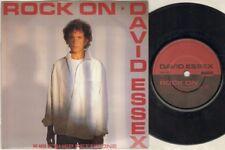 """David Essex Rock On 7"""" PS, Shep Pettibone REMIX B/W la zona, lampada 5"""
