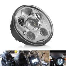5.75 inch LED Projector Headlight Daymaker Chrome for Harley Davidson Dyna