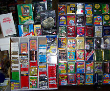 1000 BASEBALL CARDS LOT IN FACTORY SEALED PACKS 80'S-00