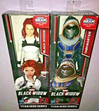 MARVEL BLACK WIDOW TITAN HERO SERIES TASKMASTER & BLACK WIDOW **NEW RELEASE**