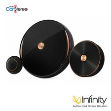 Infinity Kappa 60csx Component Car Speakers / 600W Max Power (3-Way Upgradeable)