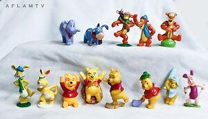 Winnie the Pooh 13 Zaini Figurines Tigger Eeyore Piglet Disney Cake Topper Bear