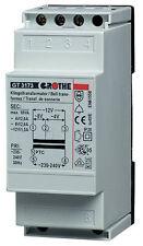 Grothe Sicherheitstransformator Trafo GT3182 Transformator 14082 Klingeltrafo