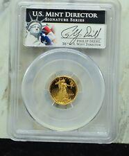 2003-W $5 AMERICAN GOLD EAGLE  PCGS PR69DCAM MINT DIRECTOR SIGNATURE SERIES