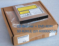 CDRW CD BURNER DVD ROM SD R2412 TOSHIBA SATELLITE A30 P/N K000005520 720 - NEW