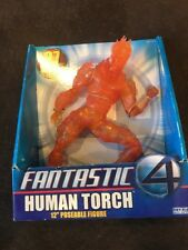 "Fantastic 4 Human Torch 12""  Poseable Figure NIP 2005 See Pics and description"