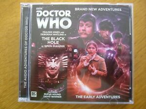 Doctor Who The Black Hole, 2015 Big Finish Early Adventures audio book CD