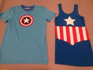 Captain America Med Dress