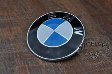 orig BMW Emblem 5er 6er 7er X3 X5 Z3 Z4 Plakette Haube 82 mm 8132375 7463684 NEU