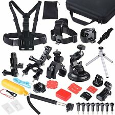 47-in-1 Essentials Accessories Kit GoPro Hero 4/3/2/1 Session Hero LCD Black NEW