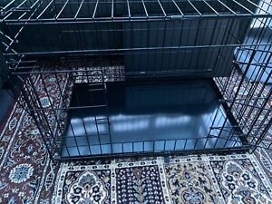 Dog Cage Puppy Pet Crate Carrier - Medium  30' Metal