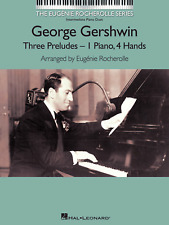 GEORGE GERSHWIN THREE 3 PRELUDES PIANO DUETS 1 Piano 4 Hands Sheet Music Book