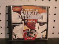 Star Wars Galactic Battlegrounds Saga PC CDROM RTS Game LucasArts 2004