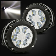 For 07-13 Chevy Avalanche Clear LED Fog Lights Driving Lamps Replacement Set