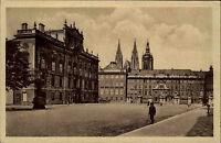 Prag Praha Tschechien AK ~1910 Hofburg Burg Erzbischöfliches Palais Pražský hrad