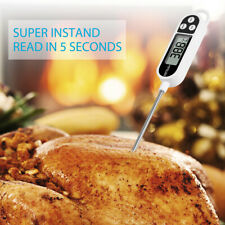 New listing Instant Read Digital Grill Kitchen Meat Thermometer Probe Bbq Oven Food Cooking