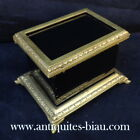 French Little Box bronze and black in Boulle 19th  Napoleon III period