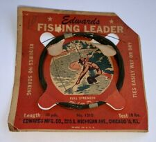 Vintage, Edward'S Fly Fishing Leader In Package (Chicago Ill.)
