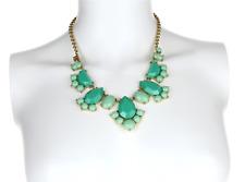 Green Womens Necklace 5913 Kate Spade Bib Frontal