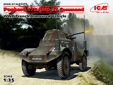ICM 35375 Panhard 178 AMD-35 Command, WWII French Armoured Vehicle 1/35