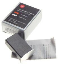LEICA T TL Lithium Ion digital camera Battery BP-DC 13 MINT Silver 18772 boxed