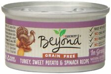 Purina Beyond Natural Canned Cat Food, Grain Free, Turkey, Sweet Potato and