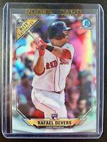 2018 Bowman Chrome ROY Favorites RAFAEL DEVERS Rookie Refractor #ROYF-RD Red Sox