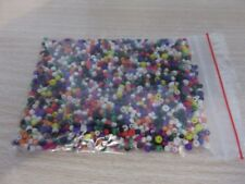 2-3mm  Glass Seed Beads - Mixed aprox 1,700 pcs (50g) FREE POSTAGES- AUS SELLER