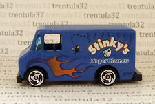 Stinky's Diaper Cleaners Combat Medic DELIVERY TRUCK VAN Blue HOT WHEELS Loose